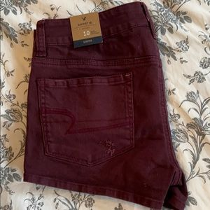 American Eagle shorts in size 10.